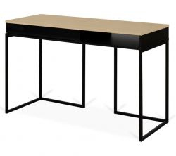 Desk City | Oak, Black