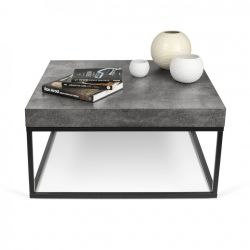 DISCONTINUED Side Table Petra 75 | Concrete Look