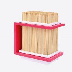 Messerblock Bambus | Rosa