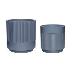 Plant Holder Set of 2 | Grey