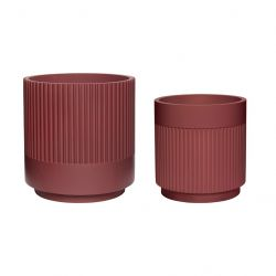 Plant Holder Set of 2 | Bordeaux