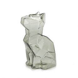 Vase Sphinx Cat 15 cm | Grey