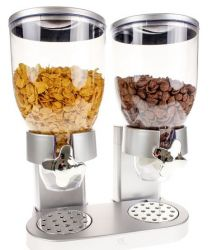 Cornflakes Dispenser | Silver