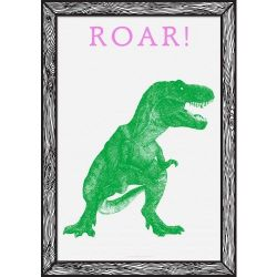 Art Print Roar! | Green