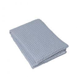 Bath Towel Waffle 70 x 140 cm | Ashley Blue