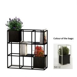 Modular Planting System 9x Black + 2 Anthracite Bags