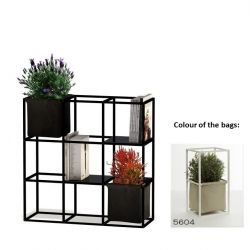 Modular Planting System 9x Black + 2 Beige Bags