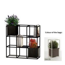 Modulair Plantensysteem 9x Zwart + 2 Bruine Zakken