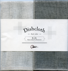 Dishcloth R.I.B. Set of 2 | Grey #5