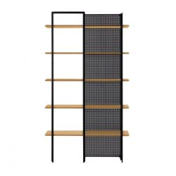 Shelves Nadyria | Natural - Black