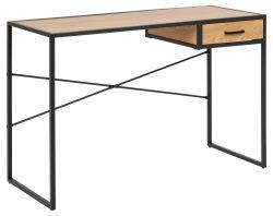 Schreibtisch Stanley mit Schublade | Eiche