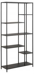Bookcase Isaac 5 Shelves | Black