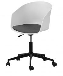 Chaise de bureau Moon | White