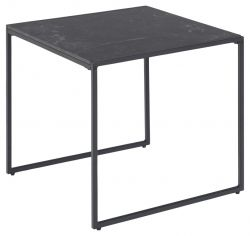 Side Table Infinity 63 x 19 x 26 cm | Black