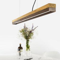 Pendant Lamp [C1o] Oak + Corten