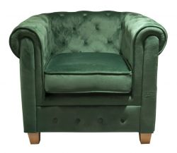 Armchair Chesterfield Malibu | Green