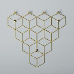 Clothes Hanger POLYHEDRA | Stiga S Gold