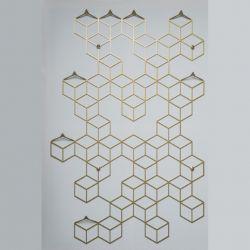 Clothes Hanger POLYHEDRA | Stiga L Gold