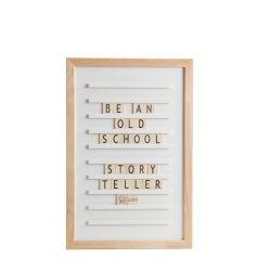 Oldschool-Briefpapier 30 x 45 | Weiß