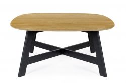 Keeni Coffee Table | Black & Oak