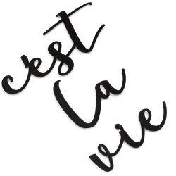 Wanddekoration C'est La Vie