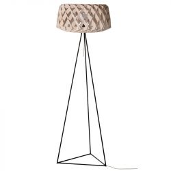Floor Lamp PILKE 60 Tripod | Natural Birch