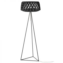 Floor Lamp PILKE 60 Tripod | Black
