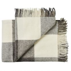 Plaid Aero 140 x 240 cm | Grey White