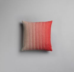 Asmund Gradient Cushion  | Red-Turquoise