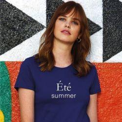 ♀ T-shirt Eté | Bleu