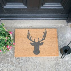Doormat | Grey Staghead