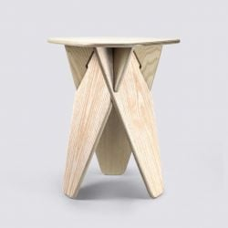 Table d'Appoint Wedge | Bois de Frêne