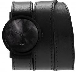 Avant Diffuse Triple Watch | Black
