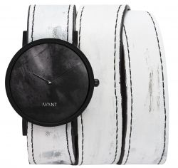 Avant Diffuse Triple Watch | White