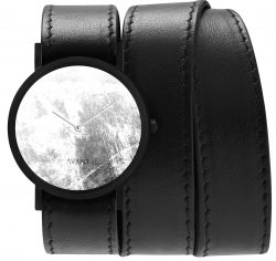 Avant Diffuse Triple Watch | Black & White