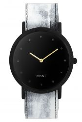 Avant Pure Watch | White & Gold