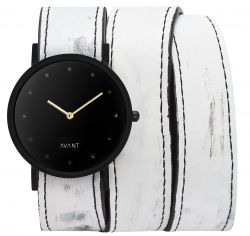 Avant Pure Watch Triple | White & Gold
