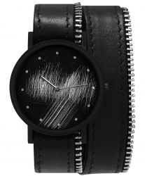 Avant Surface Double Side with Zip Watch | Black