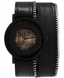 Avant Emerge Double Side Zip Watch | Black