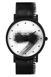 Avant Silent Side Zip Watch | Black