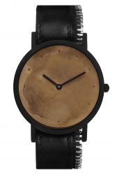 Avant Exposed Side Zip Watch | Black