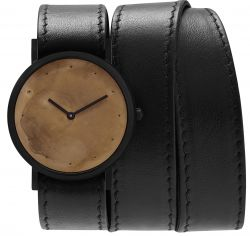 Avant Exposed Triple Watch | Black