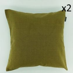 Cushion Storm Aluminium Green | Set/2