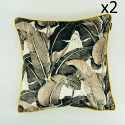Cushion Beverly Hills Leaves 40 x 40 | Set/2