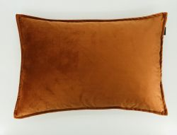 Safia Cushion | Velvet Orange Set/2