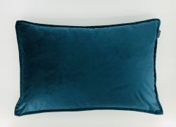 Safia Cushion | Velvet Petrol Set/2