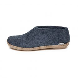 Felt Shoe Leather Sole | Denim