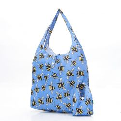 Shopping Bag | Bees | Blue