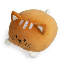 Cushion Kitty | Brown Polyester