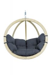 Hanging Chair Globo | Dark Grey